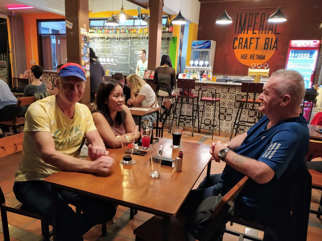craft beer on tap in Hue